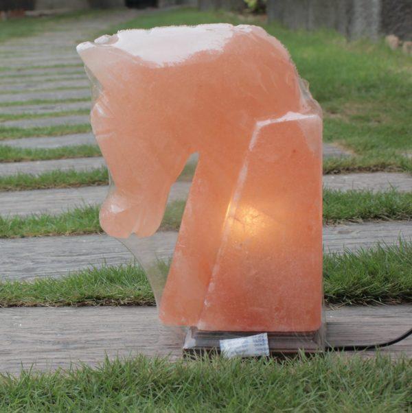Himalayan Pink Salt Horse Shaped Lamp - Hub Salt eShop