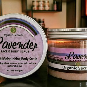 Lavender Face and Body Scrub - hubsalt eshop