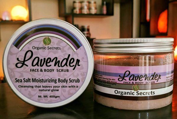 Lavender Face and Body Scrub - hubsalt eshop