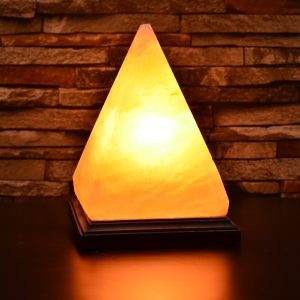 Himalayan Salt Pyramid Shape Lamp - Hub Salt eShop