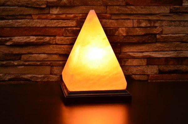 Himalayan Salt Pyramid Shape Lamp - Hub Salt eShop