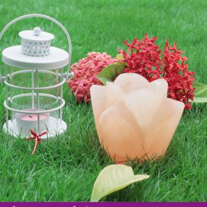 Rose Bud Tea Light-candle holder