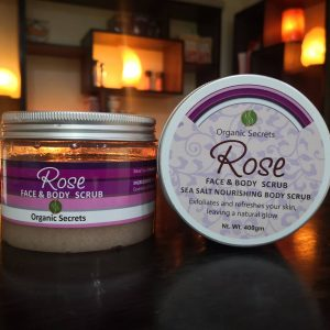 Rose Face and Body Scrub - Hub Salt eShop
