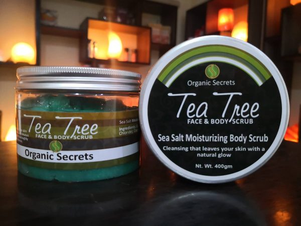 Tea Tree Face and Body Scrub - Hub Salt eShop