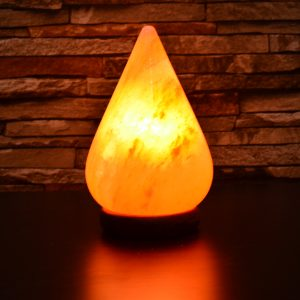 Himalayan Pink Salt Tear Drop Lamp - Hub Salt eShop