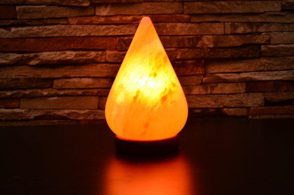 Himalayan Pink Salt Tear Drop Lamp - Hub Salt eShop