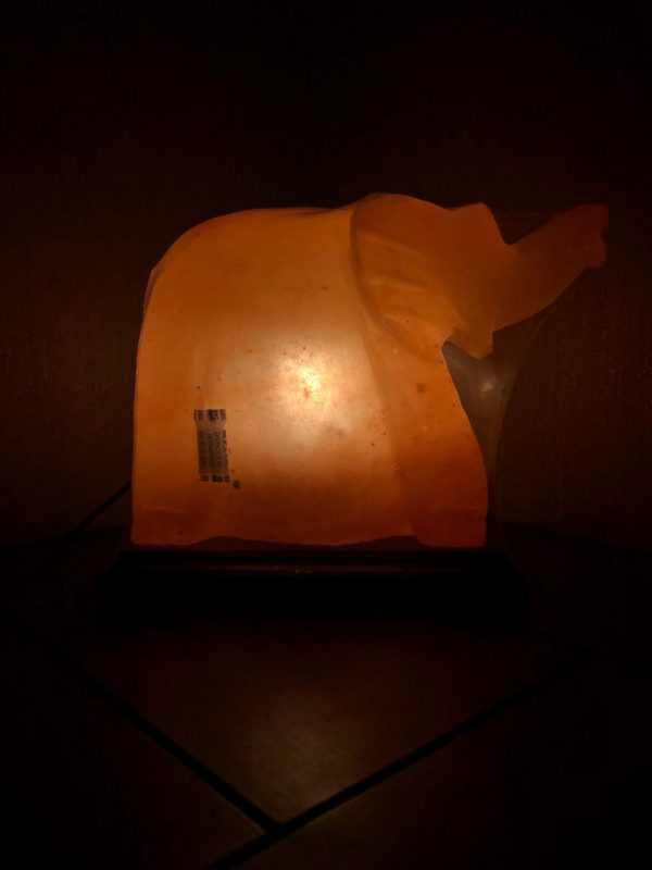 elephant salt lamp