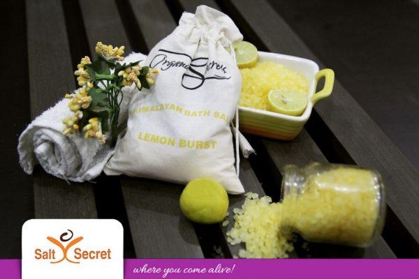 Lemon Burst Bath Salt