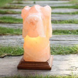 Himalayan Pink Salt Dog Shaped Lamp - Hub Salt eShop