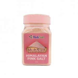 hubsalt pink salt shaker 400g