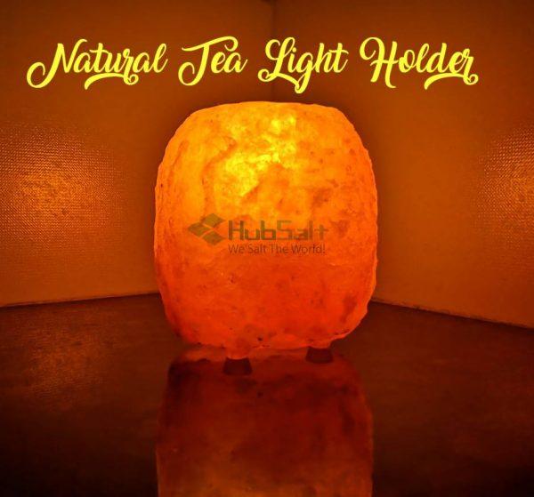 Natural Tea Light-Candle Holder