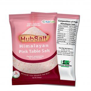 HubSalt Himalayan Pink Salt Fine-800g