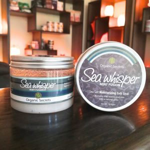Sea Whisper (Mint Fusion) Face and Body Scrub - Hub Salt eShop